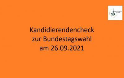 Kandidierendencheck zur Bundestagswahl